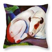 The Steer The Bull 1911 Throw Pillow