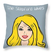 The Stepford Wives - Alternative Movie Poster Throw Pillow