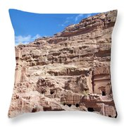 The Stone City Throw Pillow