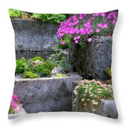 The Stone Planters Throw Pillow