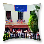 The Stonewall Inn National Monument Throw Pillow