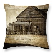 The Stories This House Holds Throw Pillow
