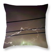The Storm 1.4 Throw Pillow