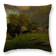 The Storm, George Inness Throw Pillow