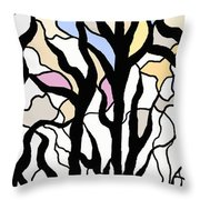 The Storm Has Passed Throw Pillow
