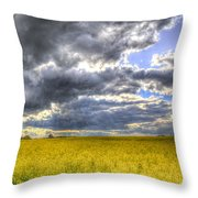 The Storms Approach  Throw Pillow