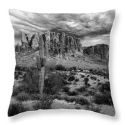 The Stormy Superstitions Throw Pillow