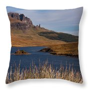 The Storr Throw Pillow