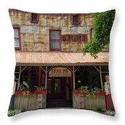 The Story Inn 2 Throw Pillow