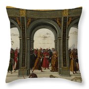 The Story Of Griselda Part II   Exile Throw Pillow