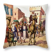 The Story Of Isaac  Throw Pillow