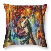 The Story Of The Umbrella Throw Pillow
