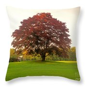 The Storybook Tree Throw Pillow
