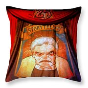 The Storyteller Hhn 25 Throw Pillow