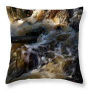 The Stream 1 Throw Pillow