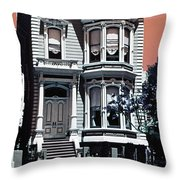 The Streets Of San Francisco Throw Pillow