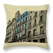 The Streets Of Toledo Throw Pillow