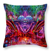 The String Cheese Incident-hulaween Throw Pillow