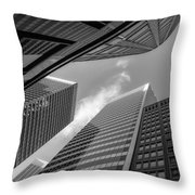 The Structures Of San Francisco 3 Throw Pillow