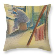 The Studio Throw Pillow