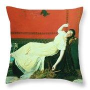 The Studio Throw Pillow