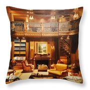 The Study Throw Pillow