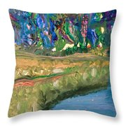 The Stuff Dreams Are Made Of Throw Pillow