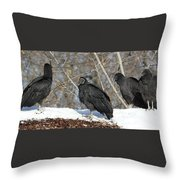 The Sub Committee  Throw Pillow