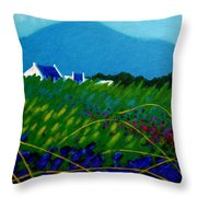 The Sugar Loaf County Wicklow Ireland Throw Pillow