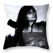 The Sulk Will Follow Soon Throw Pillow