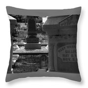 The Sullivan Burial Plot Throw Pillow