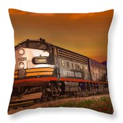 The Summer Of 1952 Throw Pillow