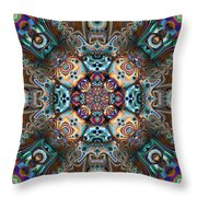 The Summer Of Love Throw Pillow