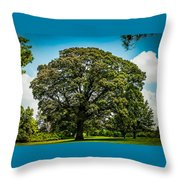 The Summer Tree Throw Pillow