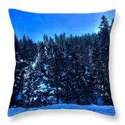 The Summit  Throw Pillow
