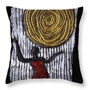 The Sun And I Throw Pillow