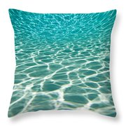 The Sun Is Reflected In Patterns Throw Pillow