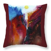 The Sun Rise Throw Pillow