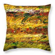 The Sun Rose One Strip At A Time 1 Throw Pillow