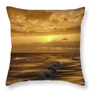 The Sun Will Return Throw Pillow