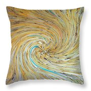 The Suns Going Down On Me Throw Pillow