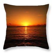 The Sunset Throw Pillow