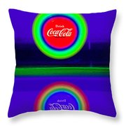 The Sunset Reflected Throw Pillow