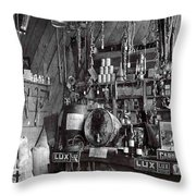 The Supply Store Throw Pillow