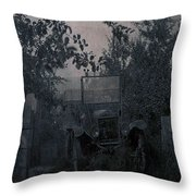 The Supply Truck Throw Pillow