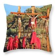 The Supreme Sacrifice Throw Pillow