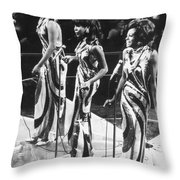 The Supremes, C1963 Throw Pillow