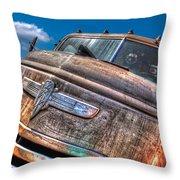 The Survivor - '42 Chevy Throw Pillow