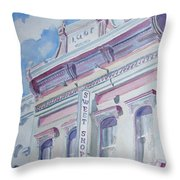 The Sweet Shoppe Throw Pillow
