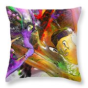 The Sweeties 02 Throw Pillow